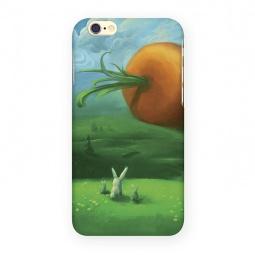 фото Чехол для iPhone 6 Mitya Veselkov «Заяц и морковка»