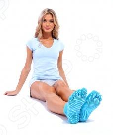 Носки с противоскользящими накладками Bradex SF 0085 носки bradex противоскользящие sf 0275