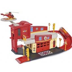 фото Набор игровой для мальчика Dickie «Пожарный гараж с аксессуарами»