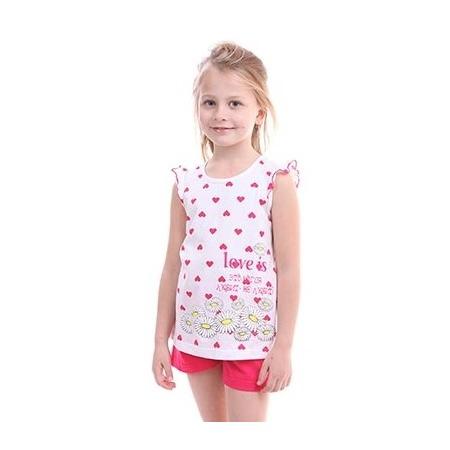 Купить Комплект для девочки: топ и шорты Свитанак 606502