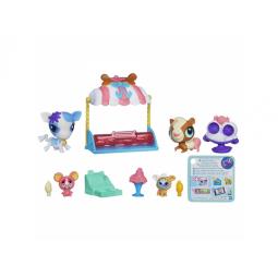 фото Набор игровой для девочек Littlest Pet Shop Приключение Зверюшек и малышей-кругляшей