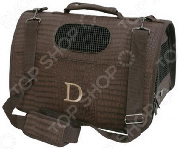 Саквояж-переноска DEZZIE 5625824 станет отличным приобретением для вашего четвероногого любимца и обеспечит животному комфорт и удобство. Модель предназначена для переноски собак; выполнена из искусственной кожи и снабжена сетчатыми вставками, молниевой застежкой, наплечным ремнем и ручкой. Внутри сумки имеет поводок для фиксации собаки.
