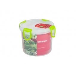 фото Контейнер для хранения продуктов Oursson Clip Fresh CP0700R. Цвет: зеленый