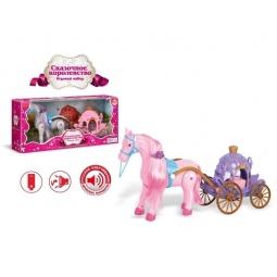 фото Набор игровой для девочки Zhorya с лошадкой «Сказочное королевство». В ассортименте