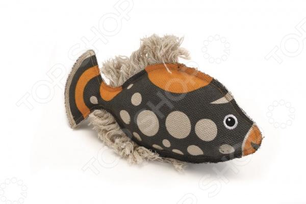 Игрушка для собак Beeztees «Рыбка» 619707 игрушка для собак beeztees i p t s рыбка цвет оранжевый