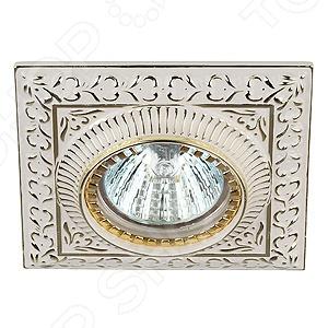 Светильник потолочный встраиваемый Эра KL47 WH/GD Эра - артикул: 560453