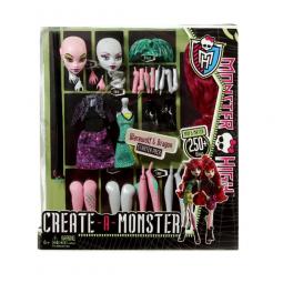 фото Набор игровой для девочек Mattel Создай монстра. В ассортименте