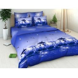 Купить Комплект постельного белья Василиса «Океан». 1,5-спальный
