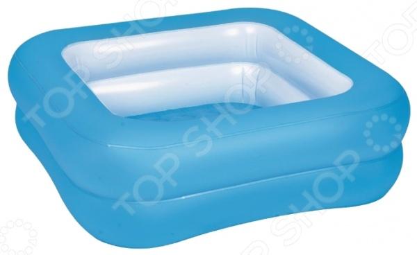 Бассейн надувной Jilong Square Baby Pool. В ассортиментеНадувные бассейны<br>Товар продается в ассортименте. Цвет изделия при комплектации заказа зависит от наличия товарного ассортимента на складе. Бассейн надувной Jilong Square Baby Pool прекрасно подойдет для водных забав вашего малыша. Так приятно, весело и интересно плескаться в прохладной воде жарким летним днем. Вы можете установить его во дворе, на даче, или взять с собой на природу. Представленная модель это отличное решение для родителей, которые хотят искупать или просто приучить своих детей не бояться воды. Разумная цена, хорошее качество и море позитива.<br>