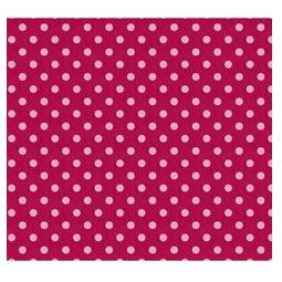 фото Отрез ткани Tilda Крупный горошек. Цвет: красный