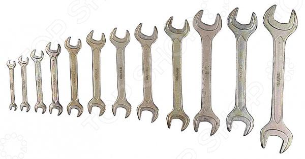 Набор ключей рожковых Stayer «Техно» 27047-H12Рожковые ключи<br>Набор ключей рожковых Stayer Техно 27047-H12 комплект ключей, который окажется полезным при проведении монтажных и ремонтных работ. Кроме того, набор займет достойное место в инвентаре автомеханика. Стальные оцинкованные ключи прослужат вам долгую и надежную службу. Комплект включает 12 ключей: 6x7, 8x9, 10x11, 12x13, 14x15, 16x17, 18x19, 20x22, 21x23, 24x26, 25x28, 30x32 мм.<br>