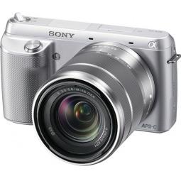 фото Фотокамера цифровая SONY Alpha NEX-F3 Kit. Цвет: серебристый