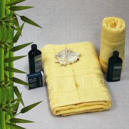 фото Полотенце махровое Mariposa Panda yellow. Размер полотенца: 70х140 см