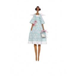 фото Набор для шитья куклы Tilda Ангел с птичкой