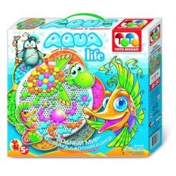 Купить Мозаика с аппликацией Toys Union Aqua life