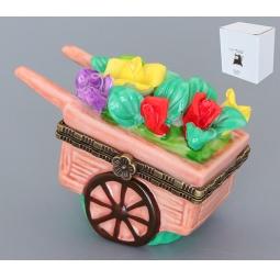 Купить Шкатулка Elan Gallery «Тележка с цветами»