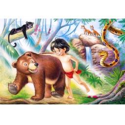 Купить Пазл 60 элементов MIDI Castorland «Маугли»