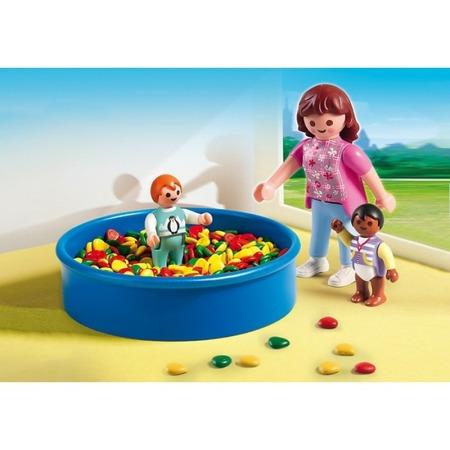 Купить Конструктор игровой Playmobil «Детский сад: Игровая площадка с шариками»