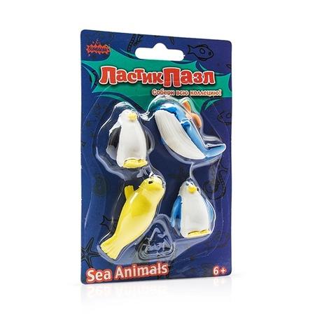 Купить Пазл-ластик Bumbaram «Морские животные»