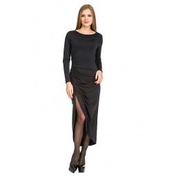 фото Платье Mondigo 7077. Цвет: черный. Размер одежды: 46