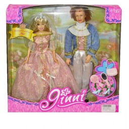 фото Набор кукол Shantou Gepai «Принцесса и принц»