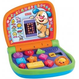 фото Ноутбук игрушечный двуязычный интерактивный Fisher Price «Смейся и учись»