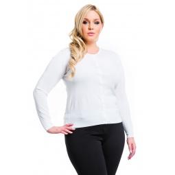 фото Жакет Mondigo XL 9769. Цвет: молочный. Размер одежды: 52