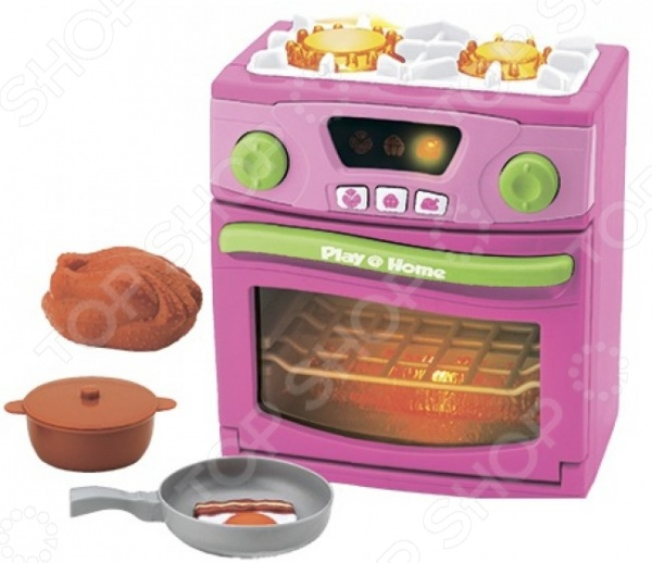 Плита портативная игрушечная Keenway 21656 аналог 21656 плита звук свет