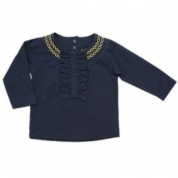 Купить Блузка детская ZEYLAND Smal case Mininio. Цвет: синий