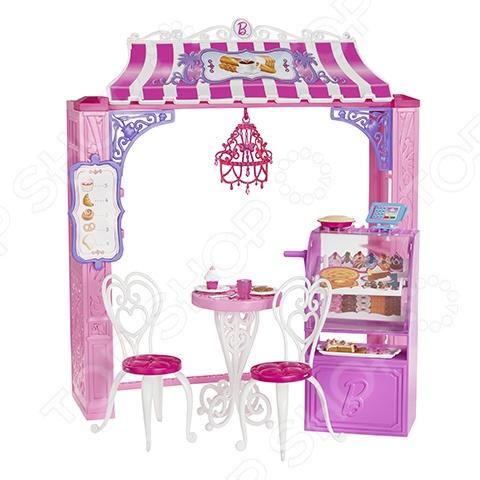 фото Кафе для Барби Mattel CCL74, Кукольные домики. Мебель