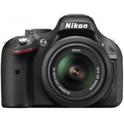 фото Фотокамера цифровая Nikon D5200 Double Kit 18-55mm VR / 55-200mm VR
