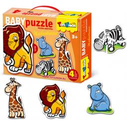 Купить Пазл контурный Toys Union «Животные»