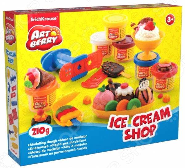 Пластилин на растительной основе Erich Krause Ice Cream Shop