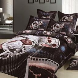 фото Комплект постельного белья с эффектом 3D Buenas Noches Kino. Евро