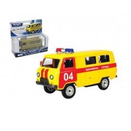 фото Машинка коллекционная Autotime UAZ 39625 «Аварийная служба»