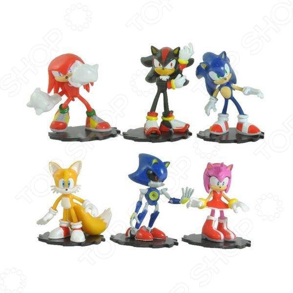 Набор игрушек-фигурок Sonic Модерн Пэк