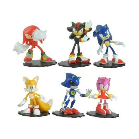 Купить Набор игрушек-фигурок Sonic Соник Модерн Пэк