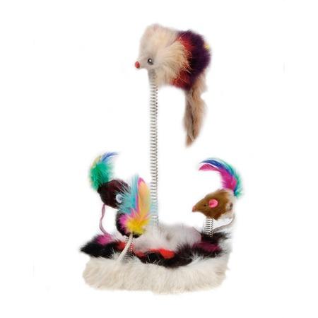 Купить Игрушка для кошек Beeztees «Мышки на пружинах» 425470
