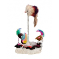 фото Игрушка для кошек Beeztees «Мышки на пружинах» 425470