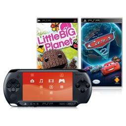 Купить Консоль игровая SONY PlayStation Portable Street и игры LittleBigPlanet и Cars 2