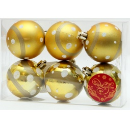 фото Набор новогодних шаров Феникс-Презент 39011 «Луна»