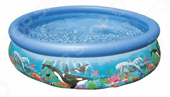 Бассейн надувной Intex «Изи» бассейн intex аквариум с надувным полом 152х56 см 58480np