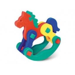 фото Конструктор для малышей Флексика «Лошадка-качалка»