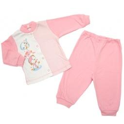 Купить Пижама IDEA KIDS «Весёлые полосатики». Цвет: розовый