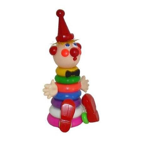 Купить Игрушка-пирамидка Плэйдорадо «Клоун» 25030