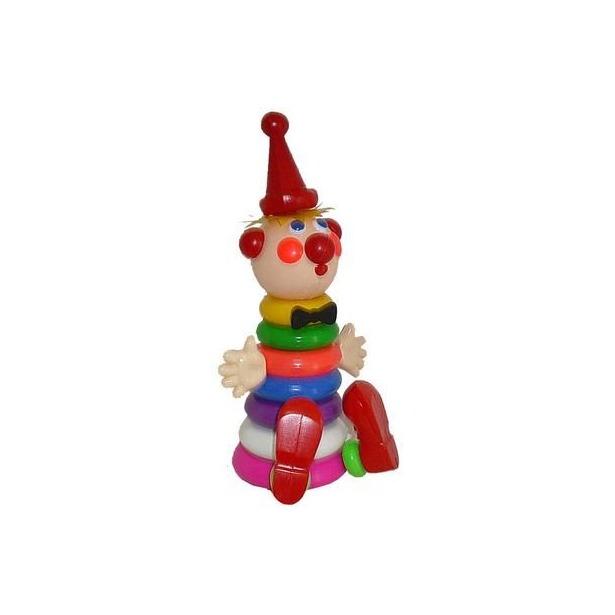 фото Игрушка-пирамидка Плэйдорадо «Клоун» 25030