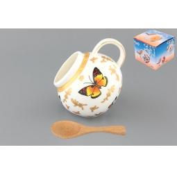 Купить Банка для соли Elan Gallery «Бабочки»