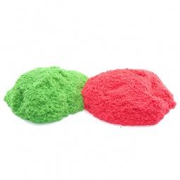 фото Песок кинетический Waba Fun Kinetic Sand. Цвет: зеленый, красный