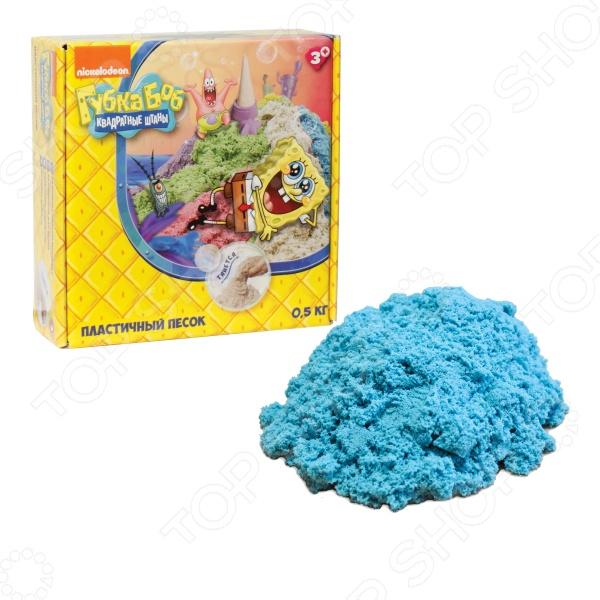 Песок кинетический 1 Toy «Губка Боб» Песок кинетический 1 Toy «Губка Боб» Т58367 /Голубой