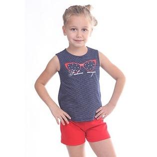 Купить Комплект для девочки: топ и шорты Свитанак 606492